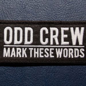 odd-crew-mark-these-words-patch-rectangle