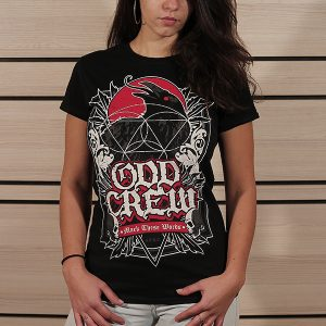 odd-crew-mark-these-words-women-t-shirt-red-raven-front