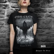 Shapes-In-Grey-Female-T-Shirt
