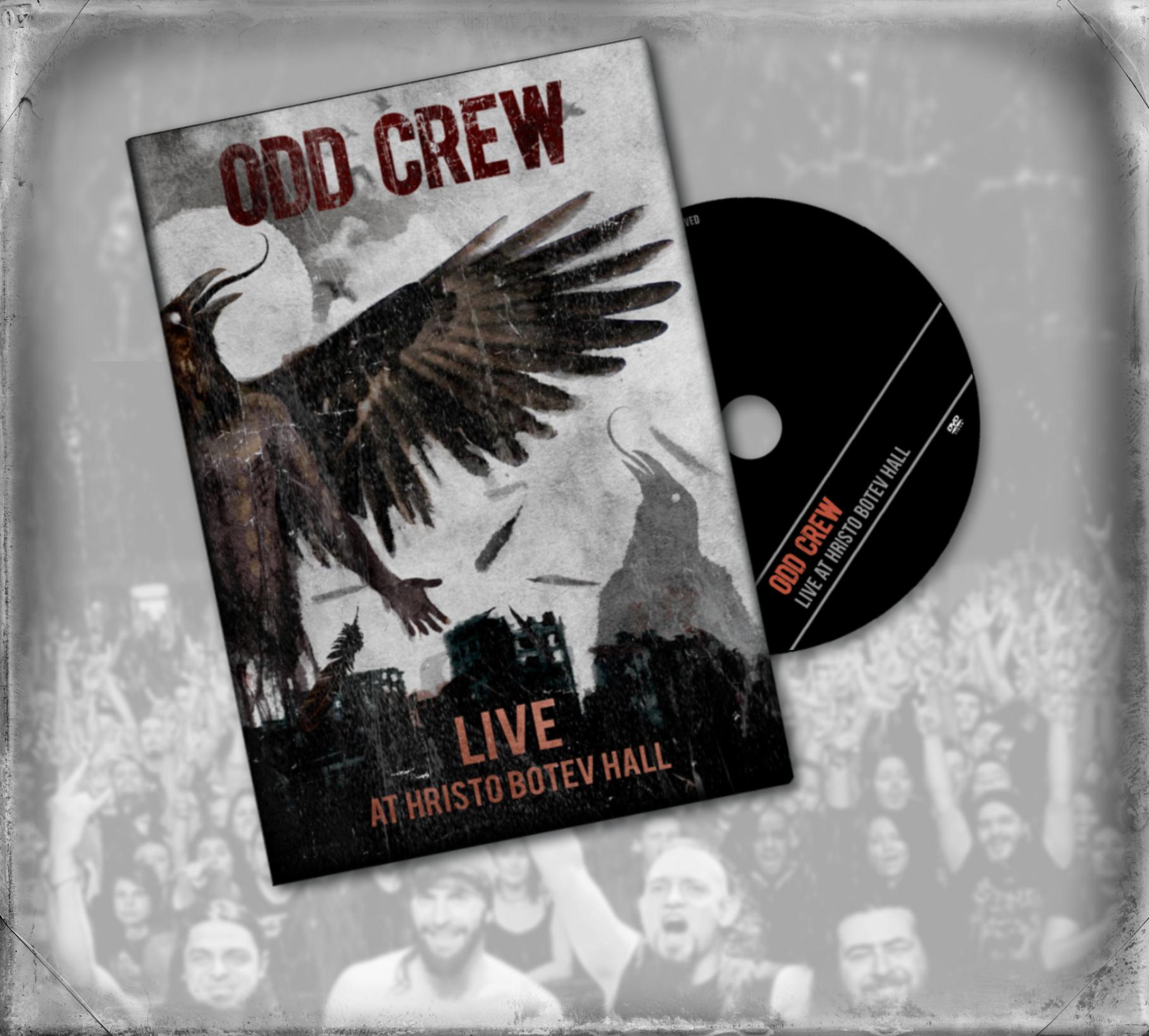"Odd Crew ""Live At Hristo Botev Hall"" DVD"