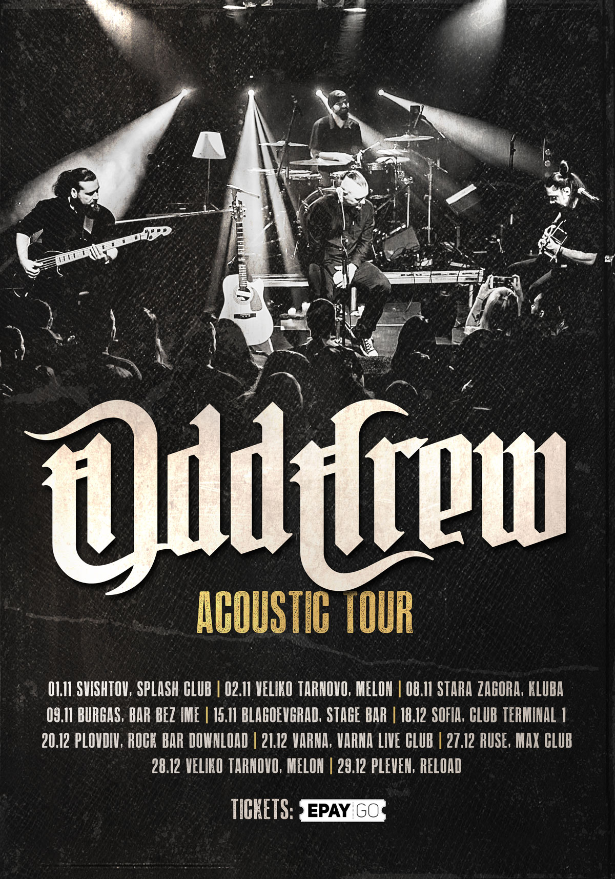 ODD CREW Announce Acoustic Tour