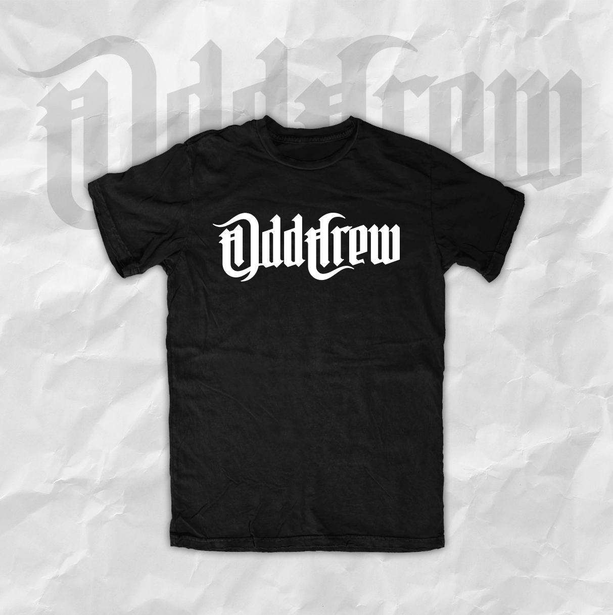 Odd Crew New Logo T-Shirt (Men's and Women's)